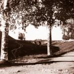 Мост через ров. Фото середины ХХ века