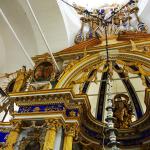Фрагмент иконостаса Спасо-Преображенского собора. Фото 2014 года