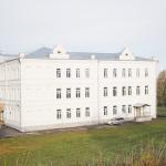 Современный вид здания, где располагалось духовное училище