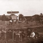 Вид на вал с Ильинской стороны. Фото начала ХХ века