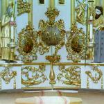 Фрагмент иконостаса Спасо-Преображенского собора. Фото С.М. Прокудина-Горского 1909 года